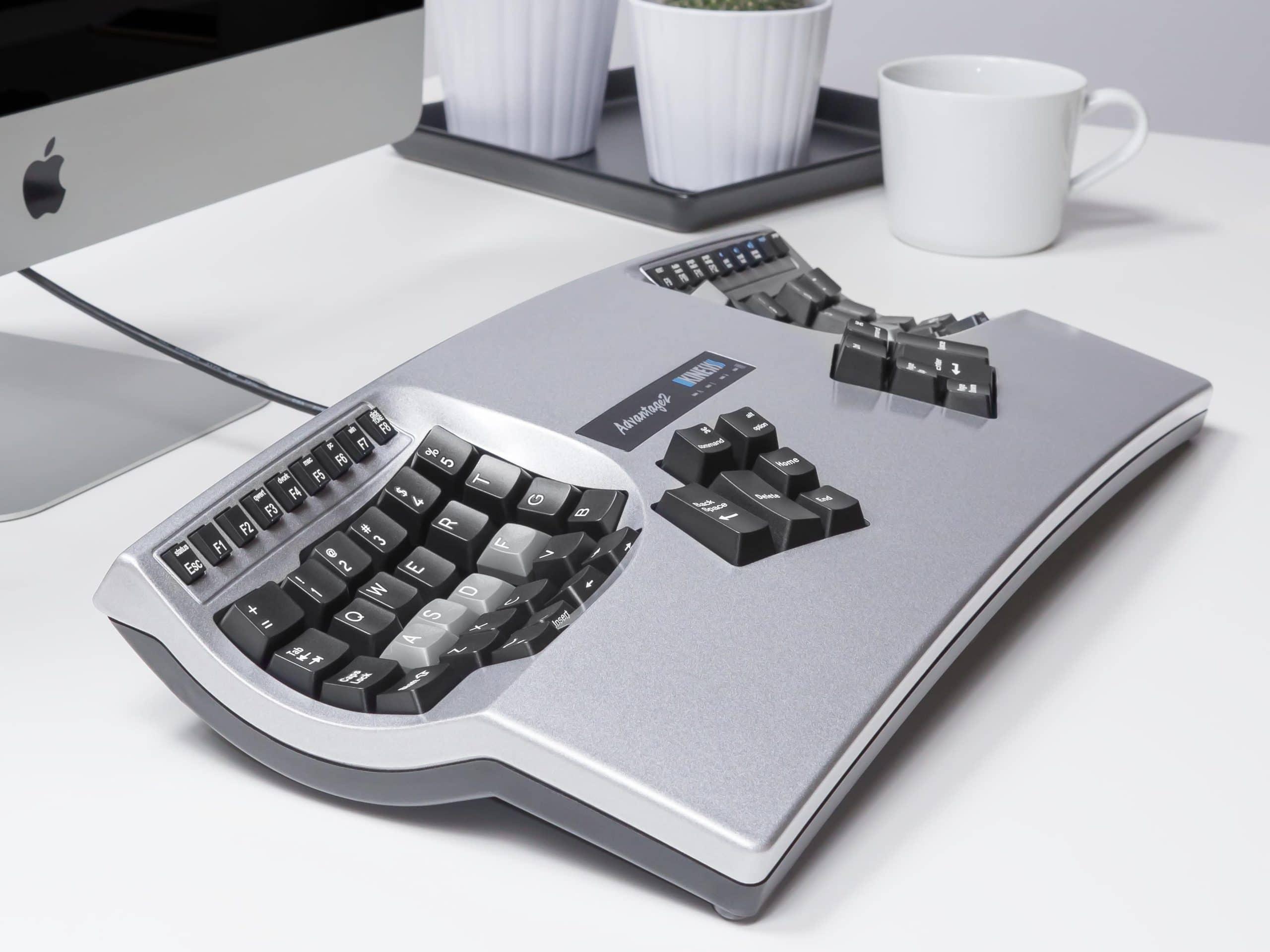 самая эргономичная клавиатура kinesis advantage 2