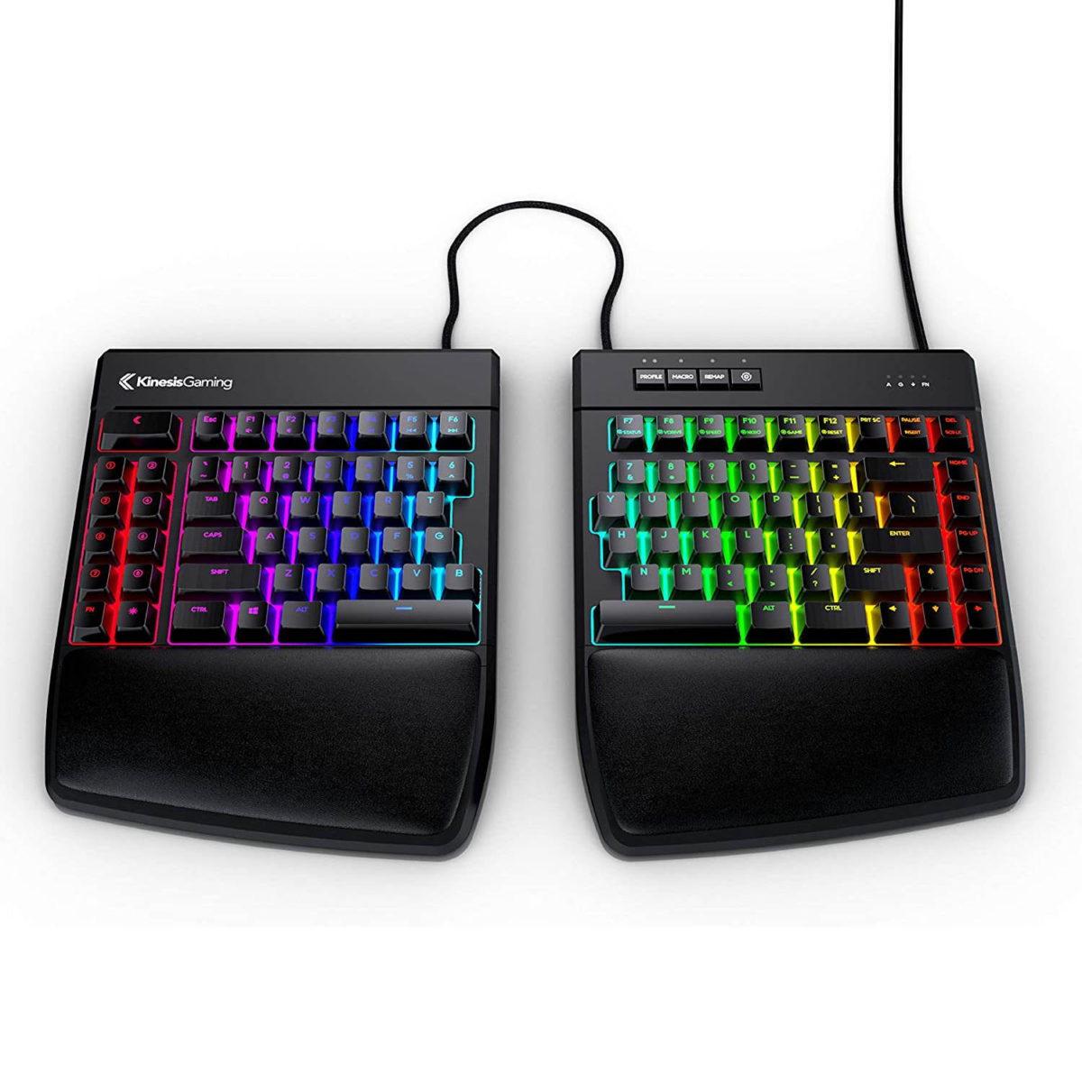 Kinesis Gaming Freestyle Edge RGB Split Keyboard