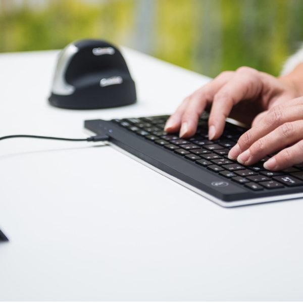 использование компактная клавиатура r-go compact